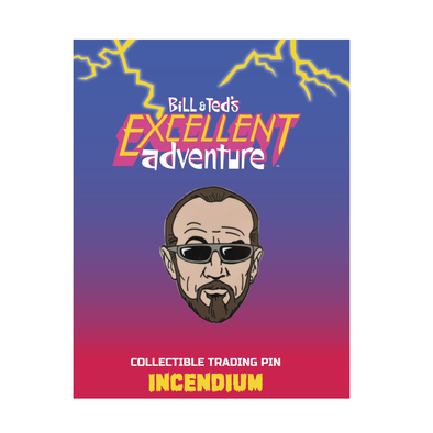 Bill & Ted's Excellent Adventure Rufus Lapel Pin