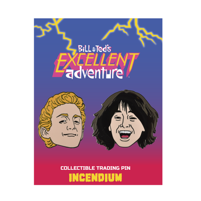 Bill & Ted's Excellent Adventure Set: A Lapel Pins