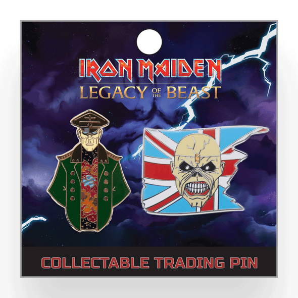 Iron Maiden : Legacy of the Beast Lapel Pin - Set 1
