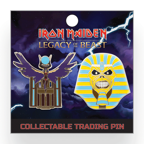 Iron Maiden : Legacy of the Beast Lapel Pin - Set 2