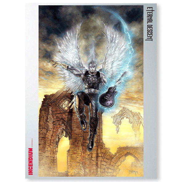 Eternal Descent Art Print : Sirian
