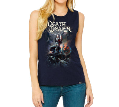 Death Dealer' Frazetta Girls x Incendium T-Shirt II Navy Tank Top