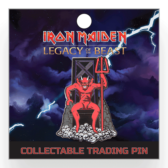 Iron Maiden : Legacy of the Beast Lapel Pin - The Beast