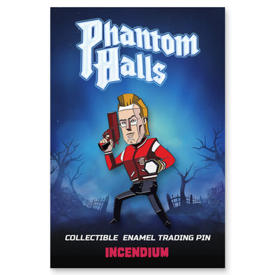 Phantom Halls Lapel Pin : The Jock