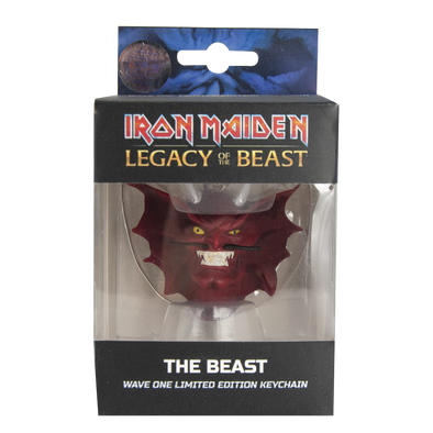 Iron Maiden : Legacy of the Beast The Beast Head Key Chain