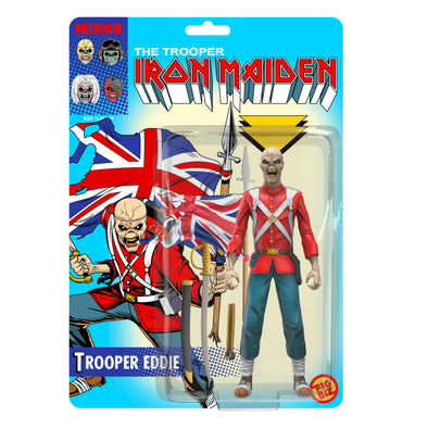 Iron Maiden : Trooper Eddie FigBiz Action Figure