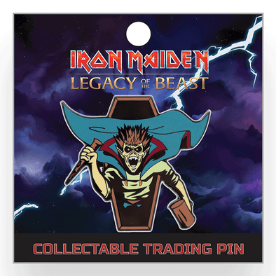 Iron Maiden : Legacy of the Beast Lapel Pin - Vampire Hunter Eddie