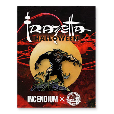 Frazetta Halloween Wolfman Lapel Pin
