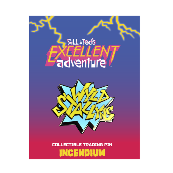 Bill & Ted's Excellent Adventure Wyld Stallyns Lapel Pin