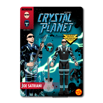 Joe Satriani Crystal Planet FigBiz Action Figure