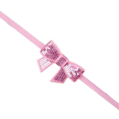 Sequin Headband -Light Pink
