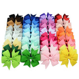 Large Coloured Bow Clip