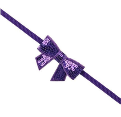 Sequin Headband - Purple