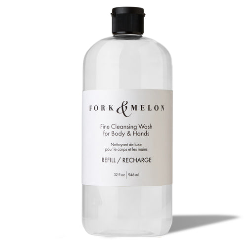 organic luxury hand soap and body wash refill