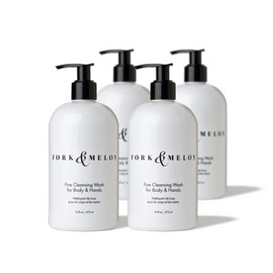 Fine Cleansing Wash (Set of 4 Large Size Bottles)