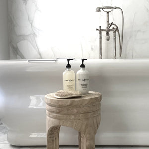 luxurious, non-toxic bath products