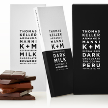 Load image into Gallery viewer, Extravirgin Dark Milk Chocolate Nicaragua Bar by Thomas Keller & Armando Manni