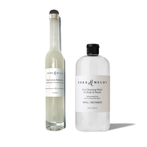 Clean Luxury Bubble Bath + 32oz Refill (Set)