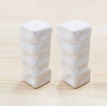 Load image into Gallery viewer, Square Ripple Salt & Pepper Shakers - Multiple Colors Available