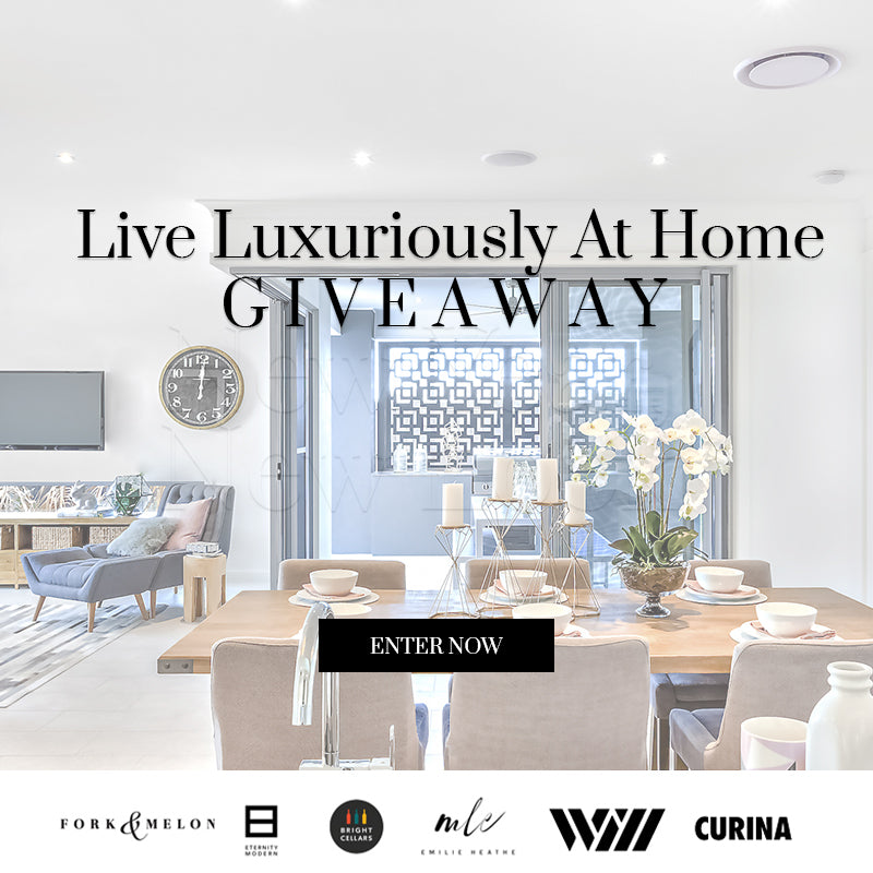 Live Luxuriously at Home Giveaway