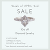 Diamond Sale ◊ 4.2018