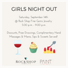 Girls Night Out 9.14.19