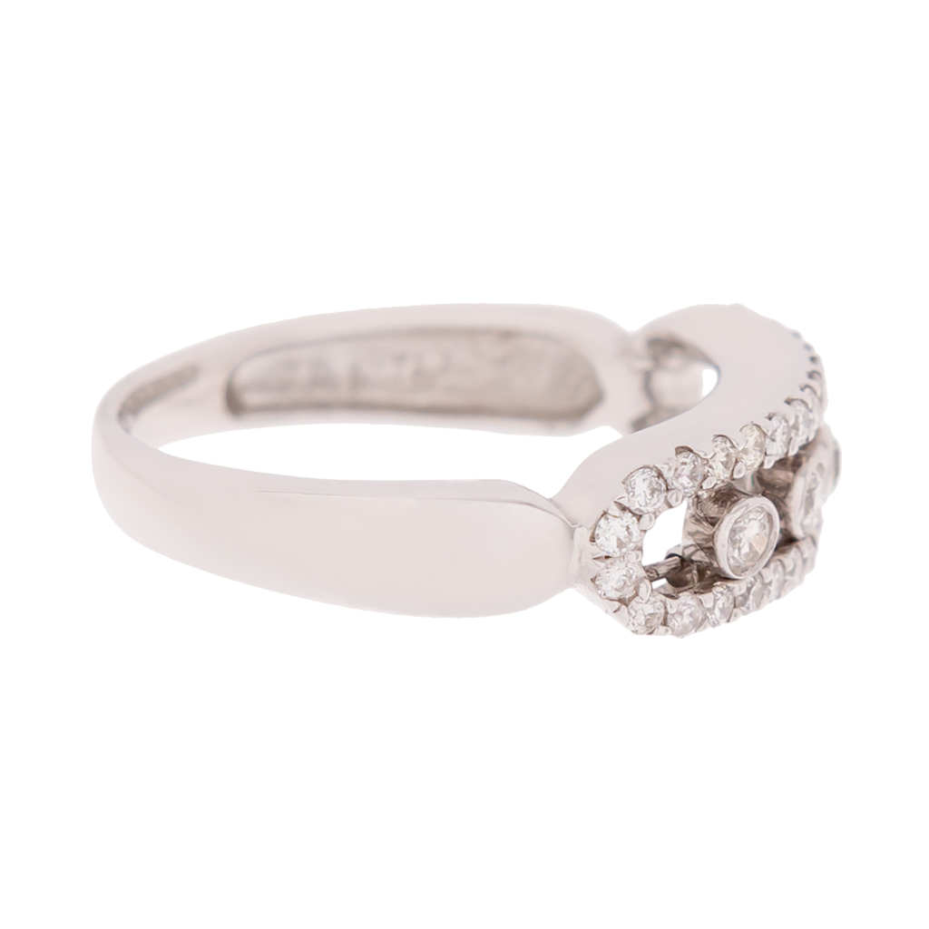 Diamond Slider Ring