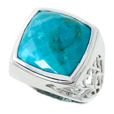 "Turquoise ""Amor"" Ring"