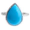 "Turquoise ""Spirit"" Pear Ring"