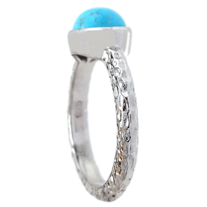 Turquoise Pear Ring