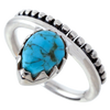 "Turquoise ""Dew Drop"" Ring"