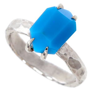 "Turquoise ""Double-Terminated"" Ring"