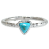 "Turquoise ""Spirit"" Trilliant Ring"