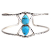 Turquoise Double Drop Cuff