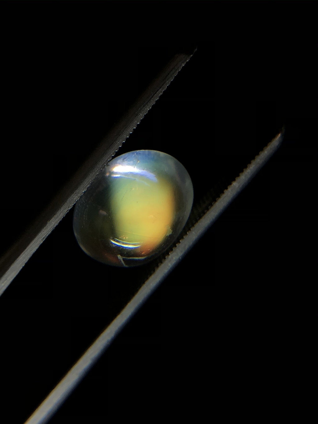 Oval Rainbow Moonstone Cabochon