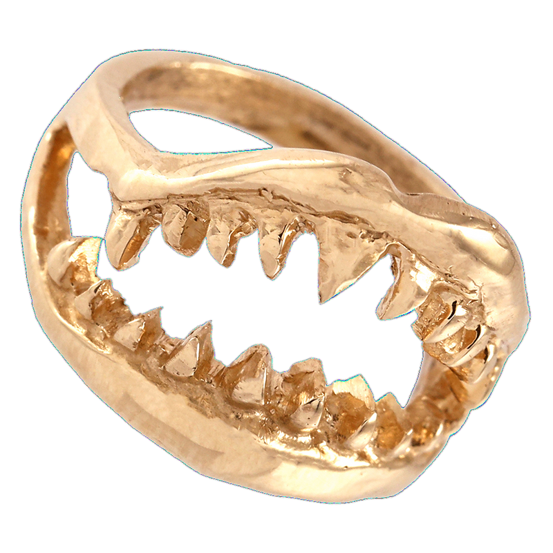 Rose Gold Jaws Ring