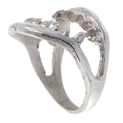 Sterling Silver Jaws Ring