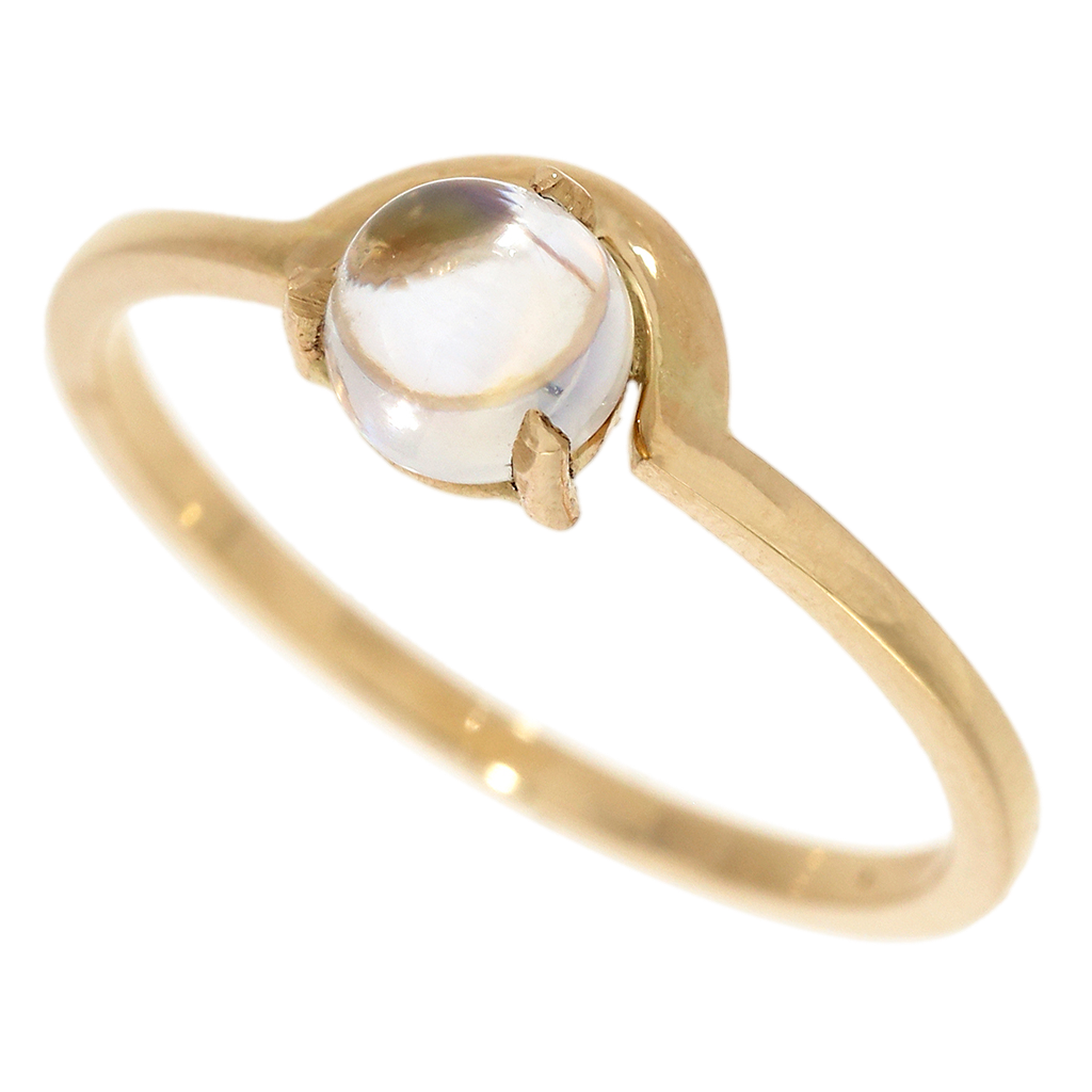 3-Prong Moonstone Ring