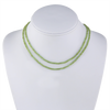 Faceted Peridot Beaded Necklace