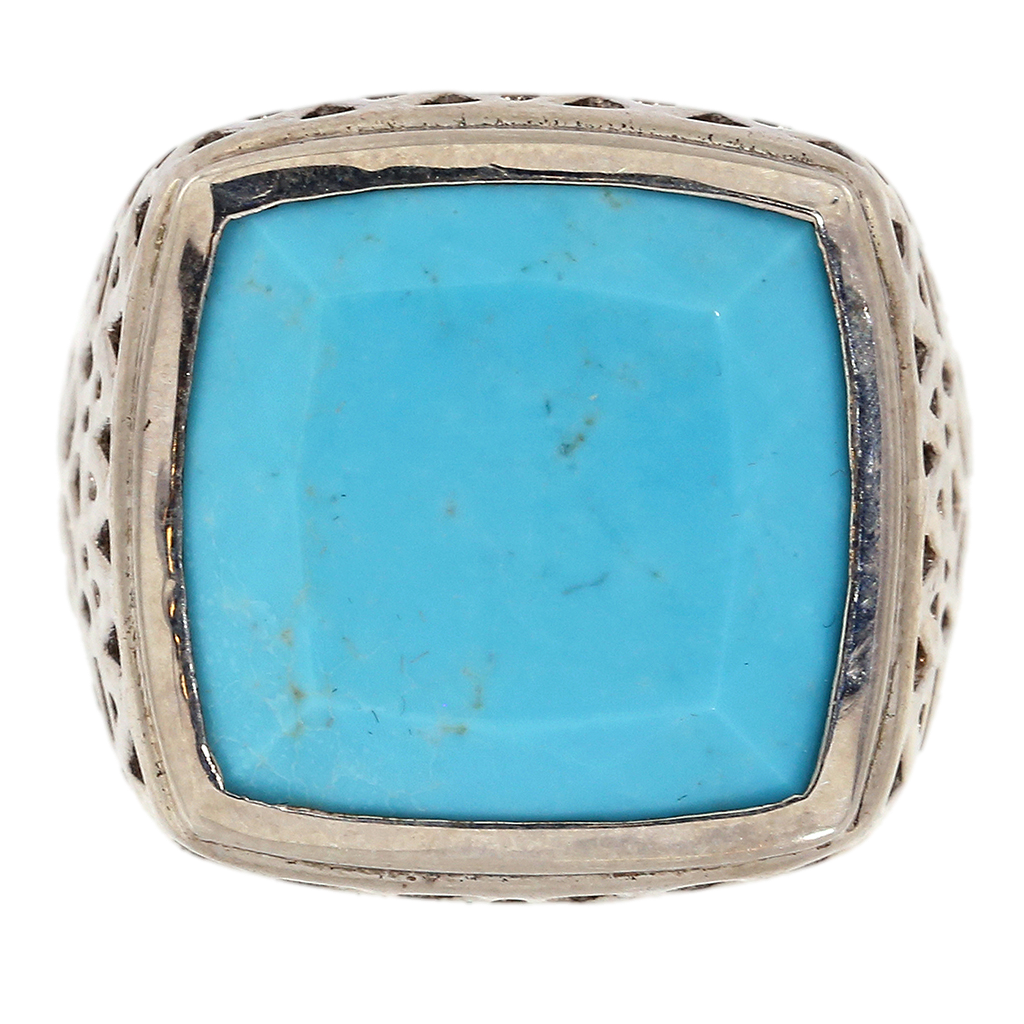 Turquoise Tribal Ring
