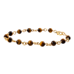 Tigers Eye Men's Bracelet