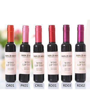 Waterproof Wine Lip Gloss Tint Lipstick