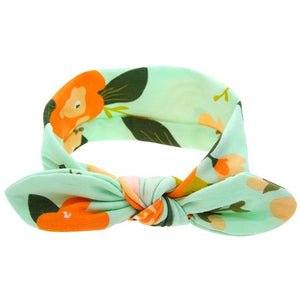 Bright Organic Cotton Kids Headwrap / Headband