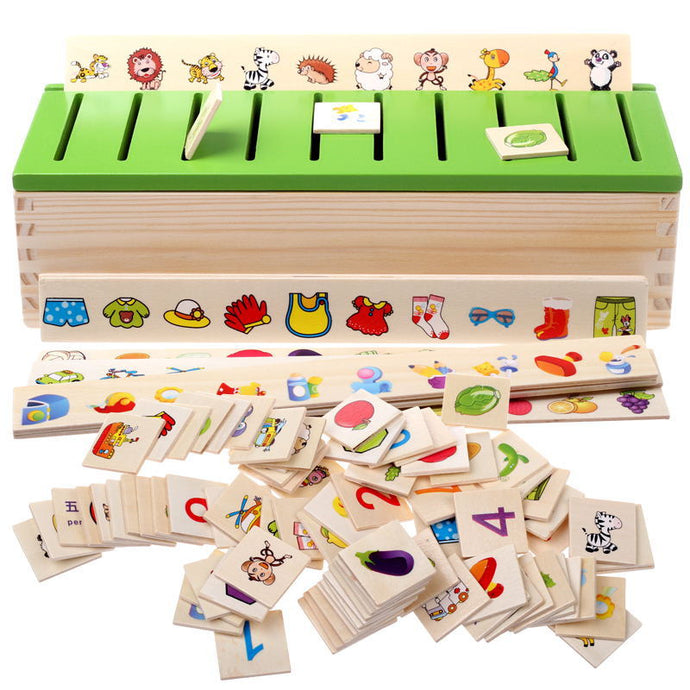 Wooden Montessori Educational Learning Puzzle