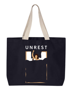 Canvas Tote Bag (Navy)