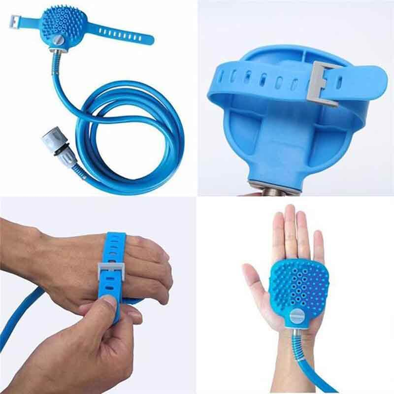 2-In-1 Pet Shower Massager Bathing Tool