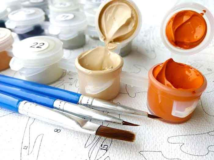 Simply Novelty Paint-By-Numbers Kit