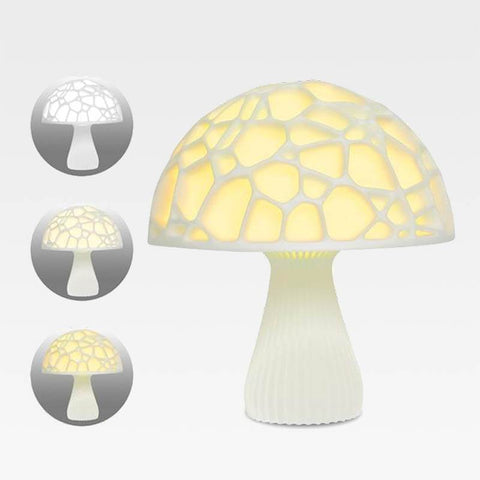 Creative Multicolor LED Mushroom Lamp Medium - 15 (cm) / 6 (in)