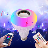 TuneGlow™ Smart 2-In-1 Color Changing LED Light With Wireless Bluetooth Speaker Standard Light Bulb Design