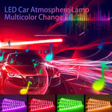 LuminAuto™ Smart Multicolor Car Interior  LED Light Kit (4 Pieces)